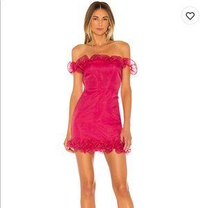 lovers and friends dustin mini dress